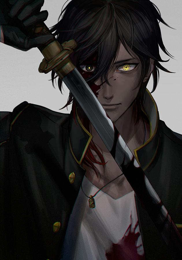 Anime Characters Male Black Hair : Ookurikara mobile wallpaper zerochan anime