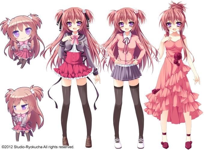 Tags: Anime, Hirose Madoka, Anapom, Studio Ryokucha, Shukufuku no Kane no Oto wa Sakurairo no Kaze to Tomo ni, Ootori Maria, Official Art
