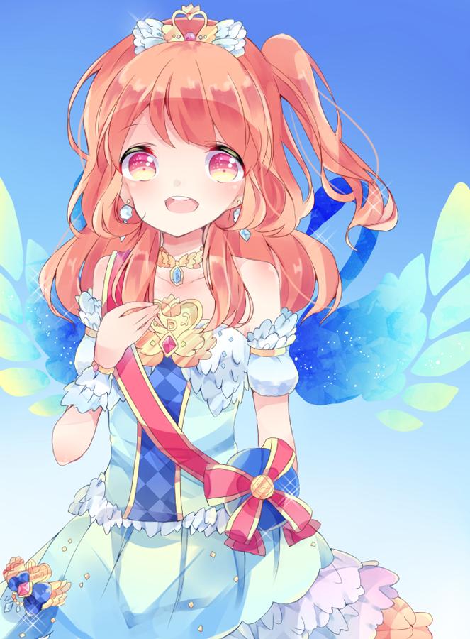 Tags: Anime, Pixiv Id 13461433, Aikatsu!, Oozora Akari, Ballerina Outfit, Ballet, Fanart, Fanart From Pixiv, Mobile Wallpaper, Pixiv, Akari Oozora