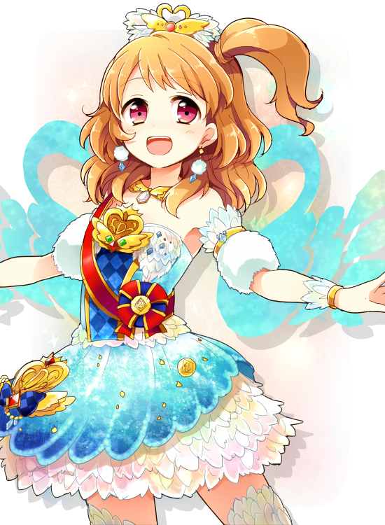 Tags: Anime, Shiro (m0c 0m), Aikatsu!, Oozora Akari, Ballerina Outfit, Ballet, Mobile Wallpaper, Pixiv, Fanart From Pixiv, Fanart, Akari Oozora
