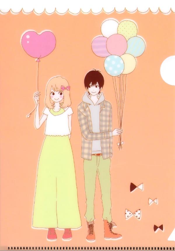 Tags: Anime, Takano Ichigo, Orange (Takano Ichigo), Naruse Kakeru, Takamiya Naho, Mobile Wallpaper