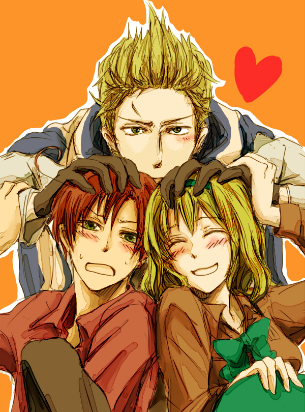 Tags: Anime, Axis Powers: Hetalia, Belgium, South Italy, Netherlands, Mediterranean Countries