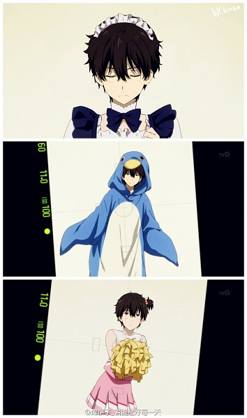 Tags: Anime, Artist Request, Hyouka, Oreki Houtarou