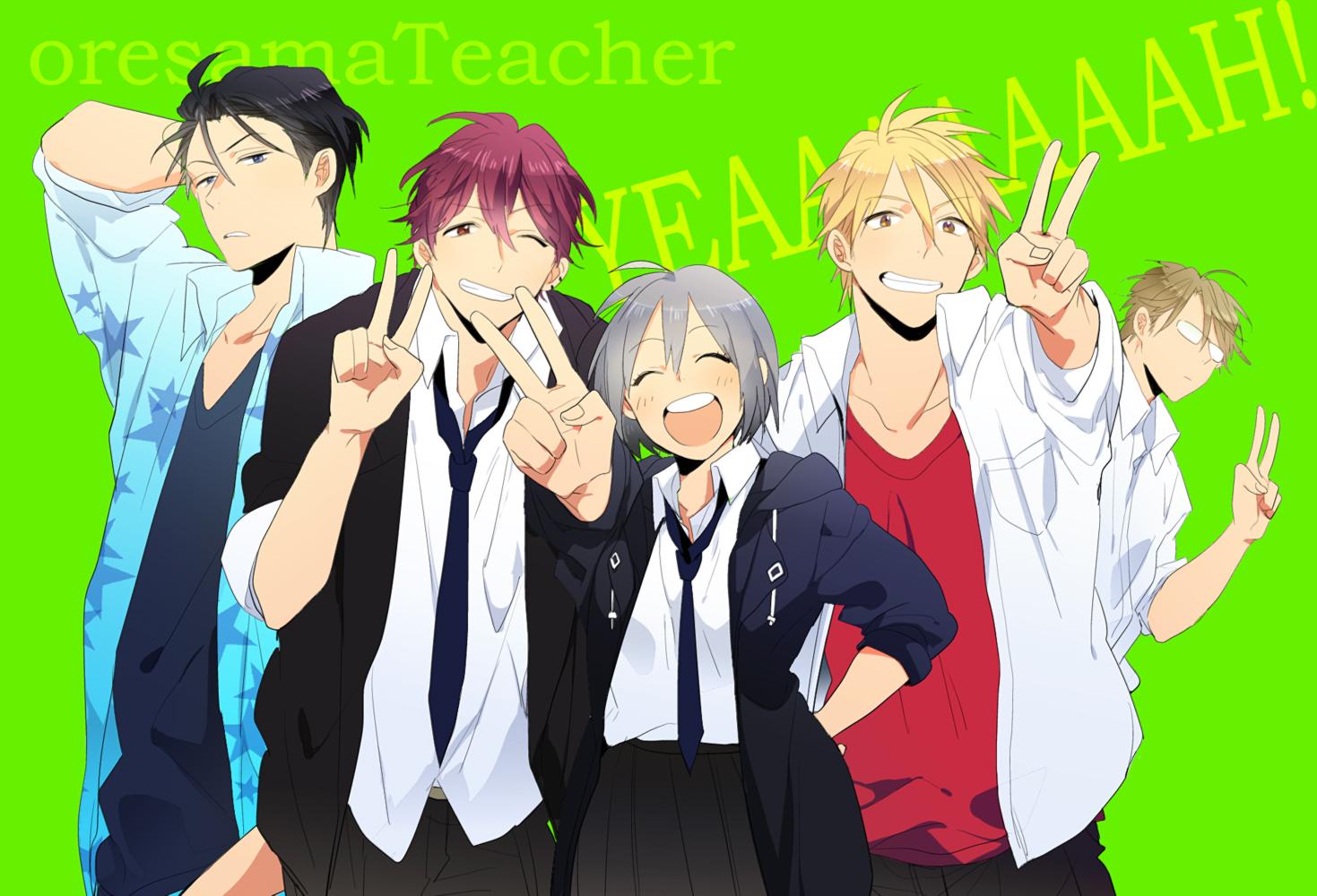 Tags: Pixiv, Oresama Teacher, Kurosaki Mafuyu, Hayasaka (Oresama Teacher), Okegawa Kyoutarou, Yui Shinobu, Shibuya Aki, Pixiv Id 8269300