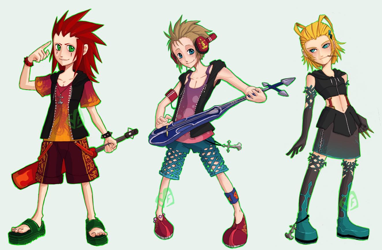 Kingdom Hearts Organization 13 Axel