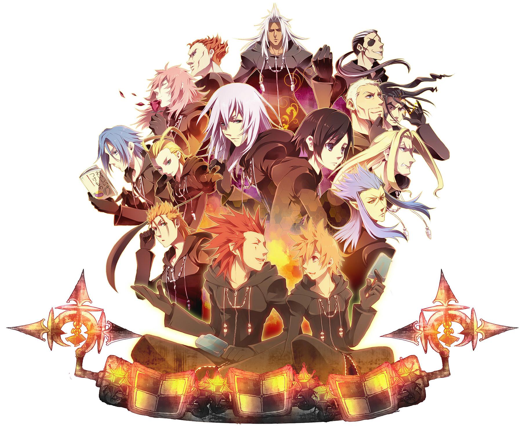 Organization XIII (Kingdom Hearts II)  #580752