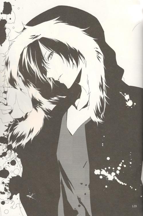 Tags: Anime, ryugo, DURARARA!!, Orihara Izaya, Mobile Wallpaper, Scan, Doujinshi Page, Fanart, Izaya Orihara