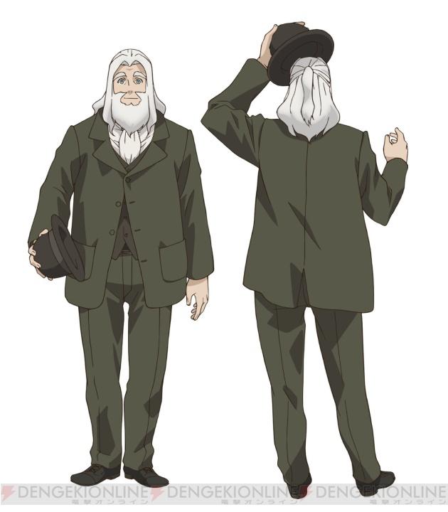 Tags: Anime, Inoue Hideki, Ikoku Meiro no Croisée, Oscar Claudel, Official Art