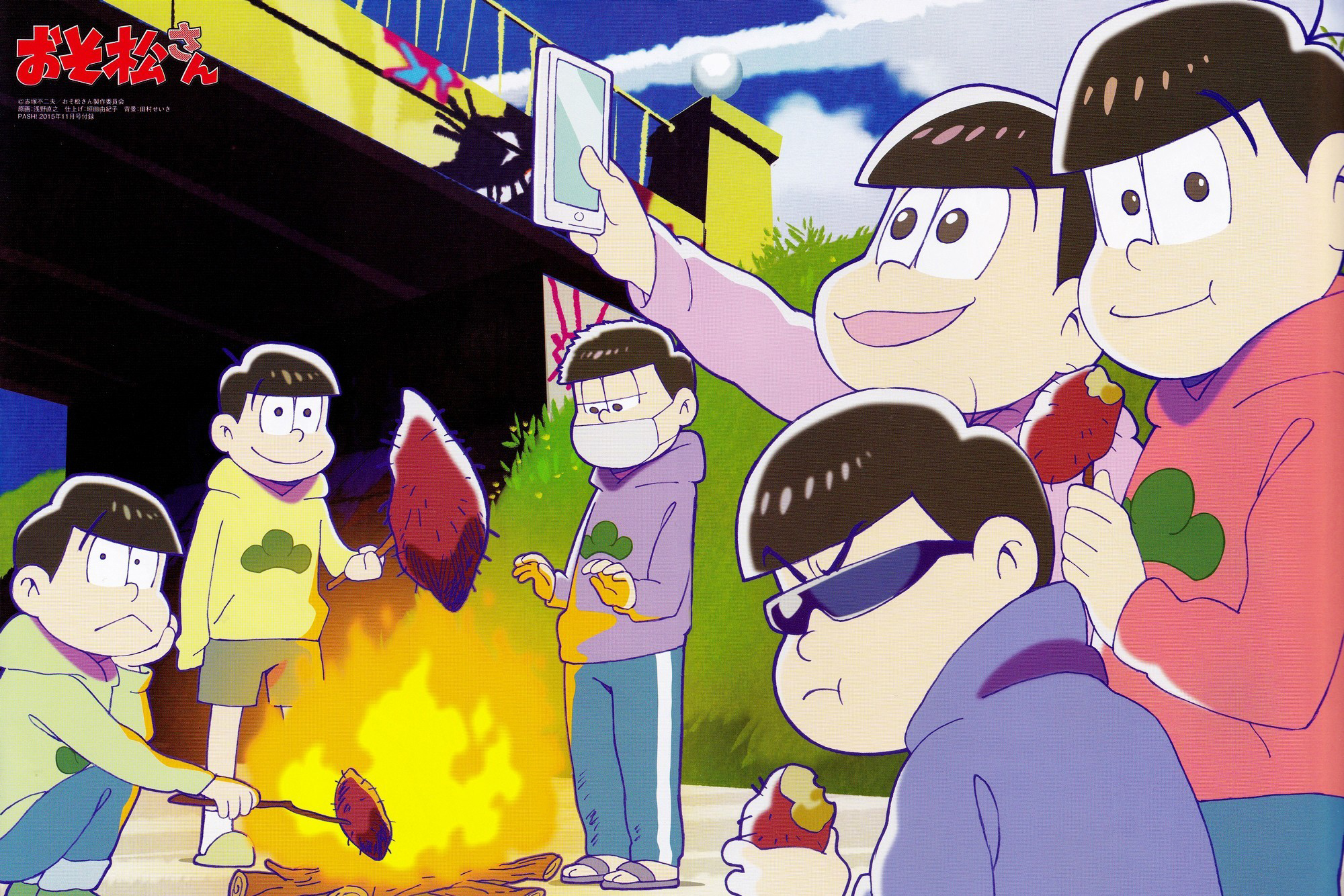 Anime Wallpapers Mr. Osomatsu HD 4K Download For Mobile iPhone & PC