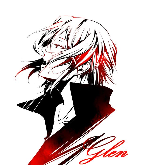 Tags: Anime, Cloudragon, Pandora Hearts, Oswald Baskerville, Face Up, Fanart, Pixiv, Baskerville