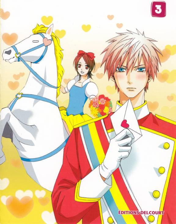 Tags: Anime, Aya Kanno, Otomen, Ryo Miyakozuka, Masamune Asuka, Official Art, Manga Cover, Scan