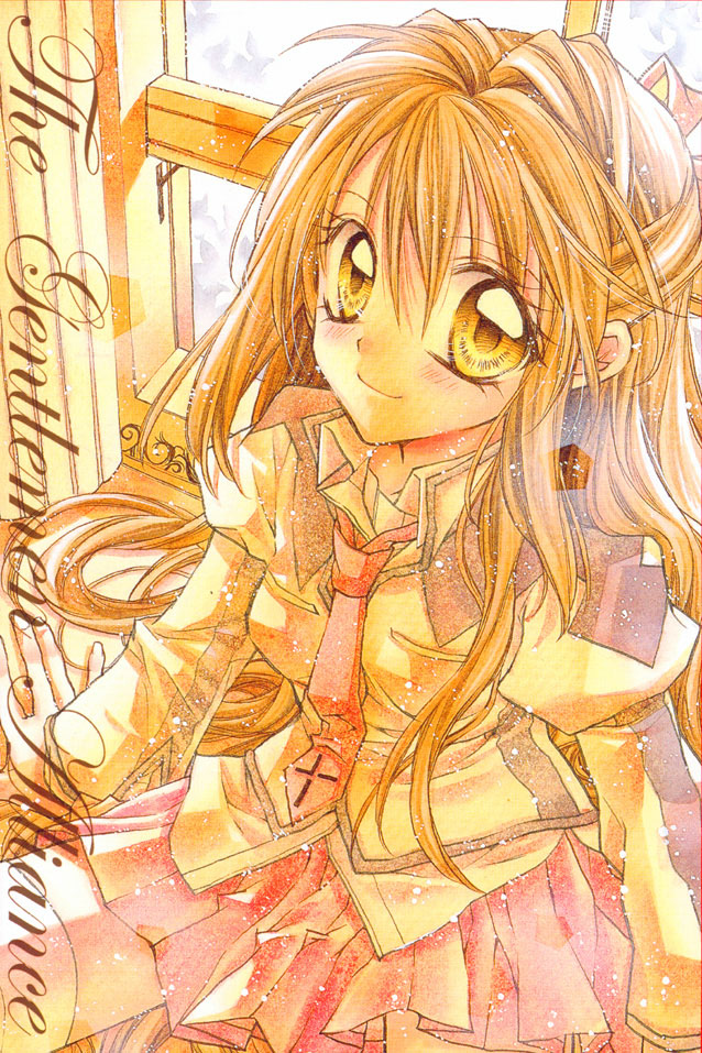 Tags: Anime, Tanemura Arina, Shinshi Doumei Cross, Otomiya Haine, Mobile Wallpaper, Official Art
