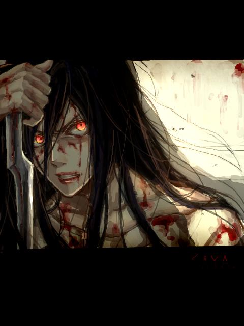 Tags: Anime, Kuro (Pixiv12803091), Blood+, Otonashi Saya, Fanart, Pixiv