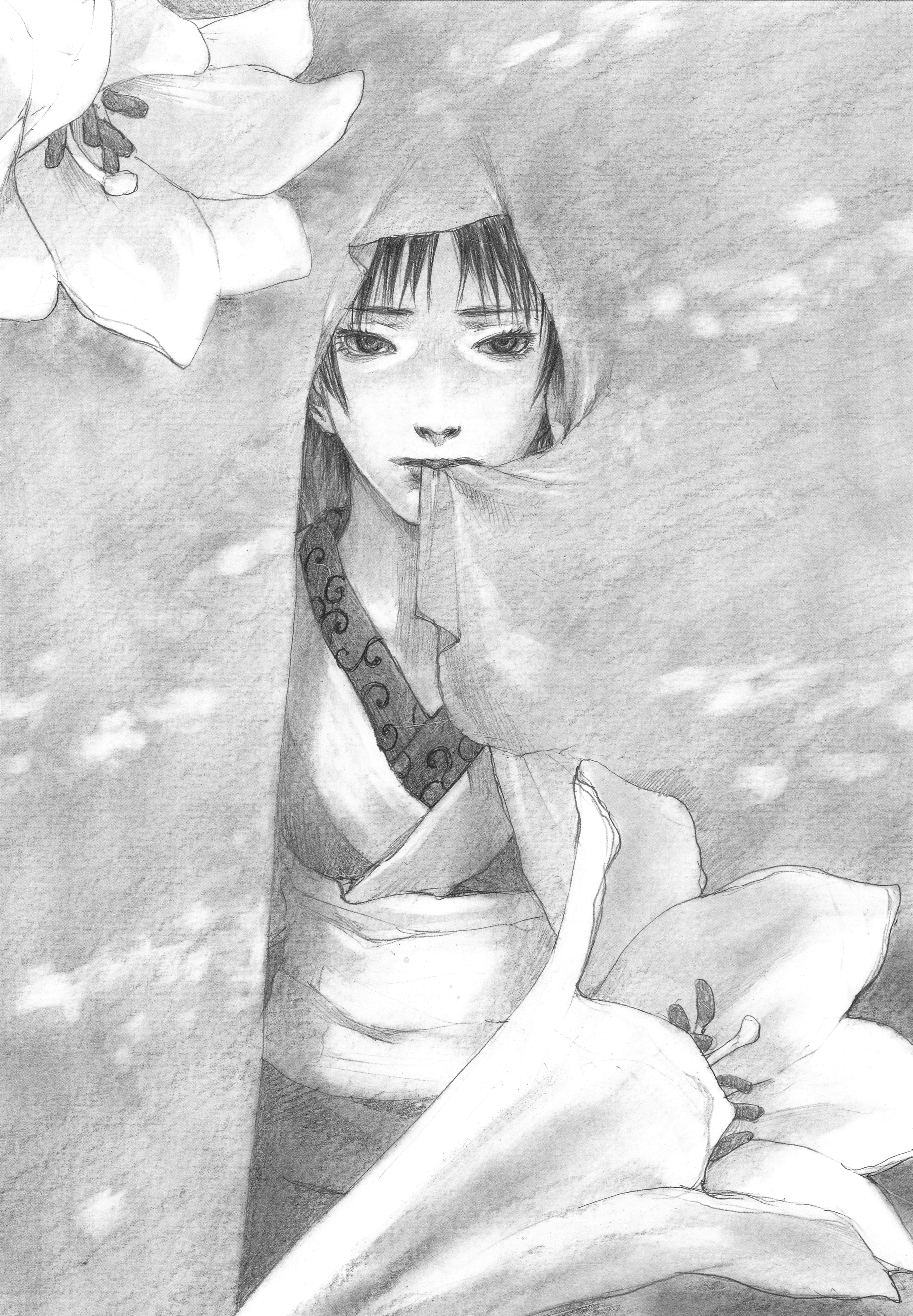 Otonotachibana Makie Blade Of The Immortal Zerochan Anime