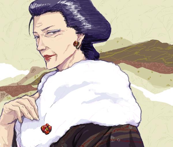 Tags: Anime, Nijita, Gintama, Otose (Gin Tama), Fanart, PNG Conversion, Pixiv