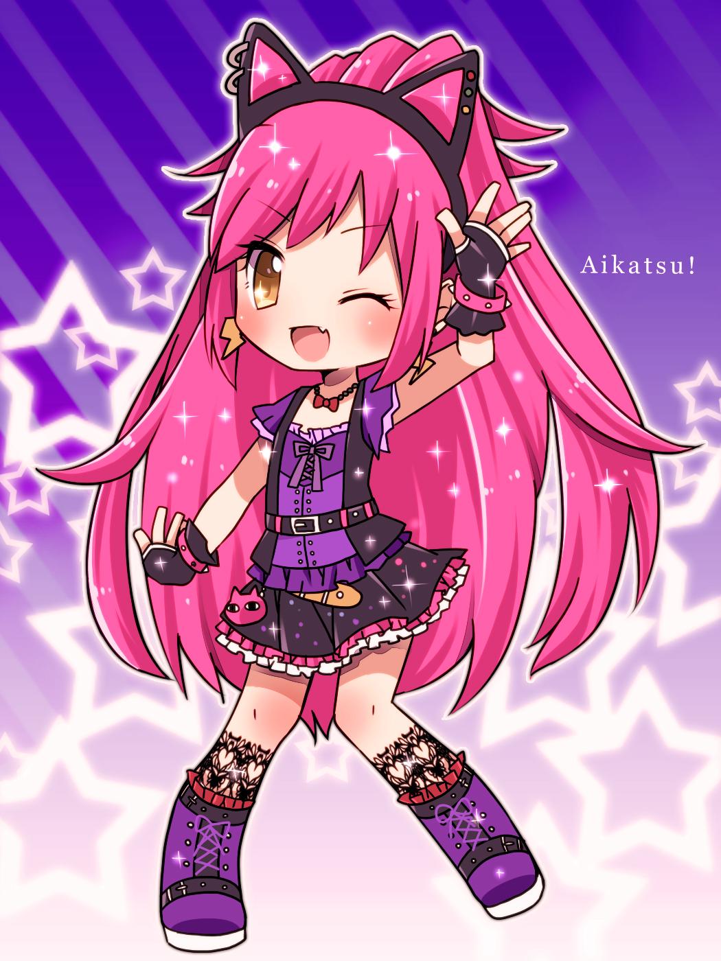 Tags: Anime, Koharuriko, Aikatsu!, Otoshiro Seira, Purple Footwear ...: www.zerochan.net/1612617