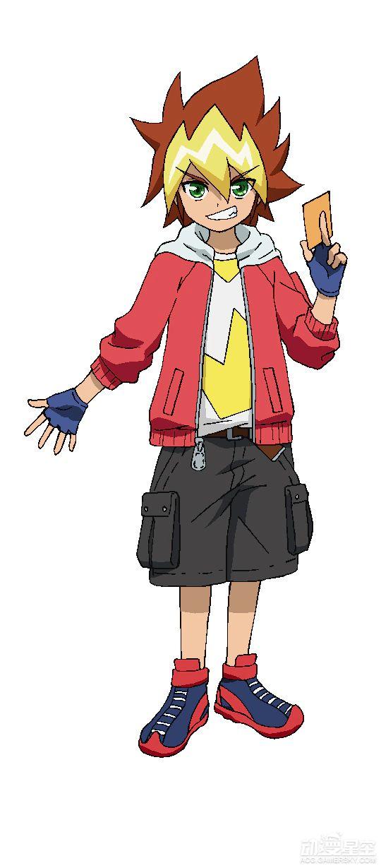 Tags: Anime, Bridge (Studio), Yu-Gi-Oh! SEVENS, Yu-Gi-Oh!, Oudou Yuuga, Upscale, Official Art