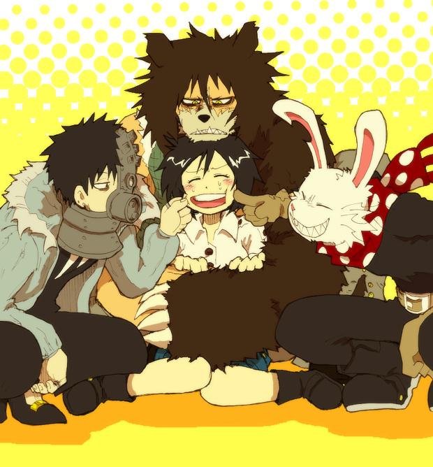 Tags: Anime, Oumagadoki Doubutsuen, Aoi Hana (Oumagadoki), Shiina (Oumagadoki), Shikuma, Isana