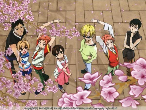 Tags: Anime, Ouran High School Host Club, Morinozuka Takashi, Hitachiin Hikaru, Haninozuka Mitsukuni, Hitachiin Kaoru, Ootori Kyoya