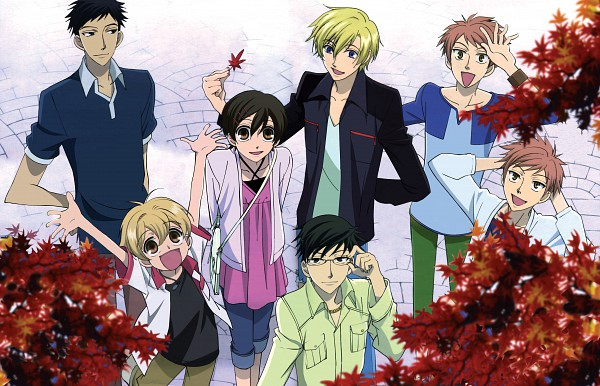 Tags: Anime, Hatori Bisco, BONES (Studio), Ouran High School Host Club, Hitachiin Kaoru, Ootori Kyoya, René Tamaki Richard de Grantaine