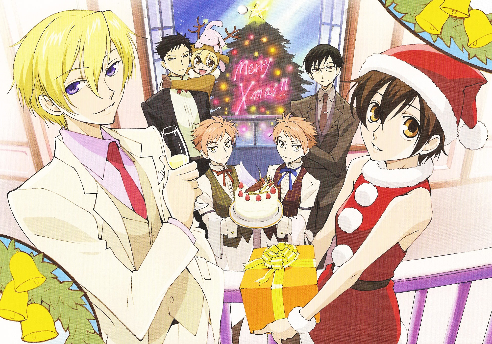 Ouran high school host club rené tamaki richard de grantaine usa