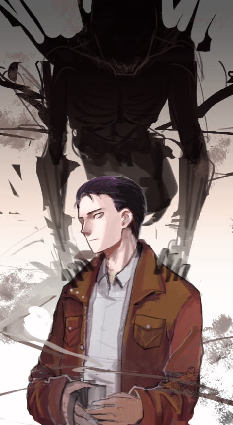 Tags: Anime, Pixiv Id 3155451, Outlast, The Walrider, Miles Upshur, Pixiv, Fanart, Fanart From Pixiv