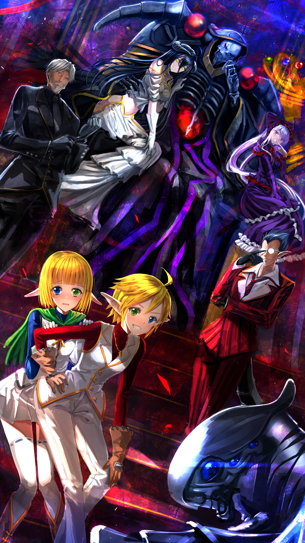 Overlord Mobile Wallpaper 1911769 Zerochan Anime Image Board