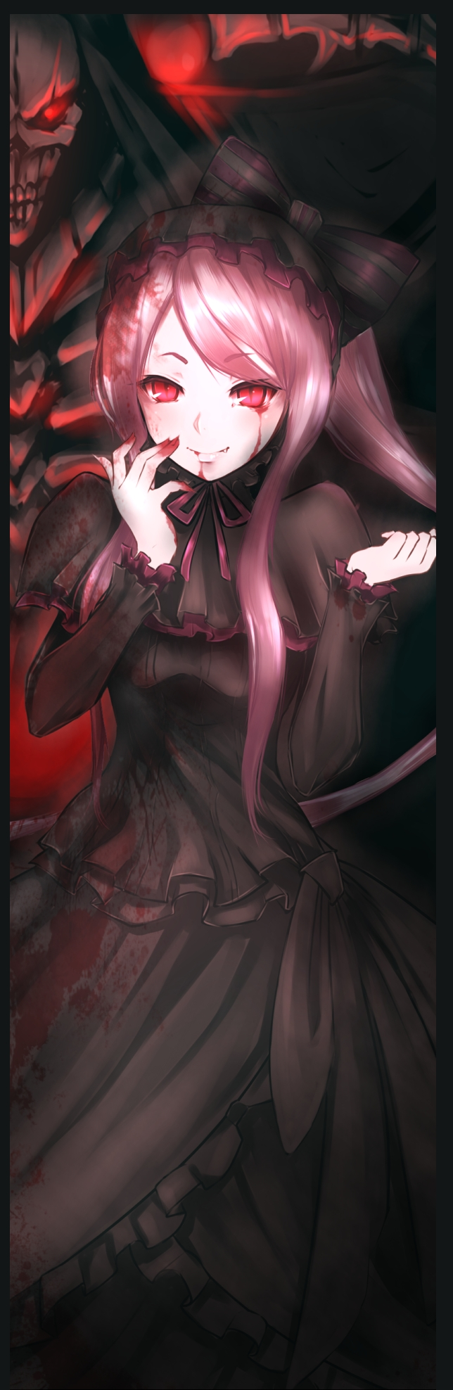 Tags: Anime, Pixiv Id 7165478, Overlord, Ainz Ooal Gown, Shalltear Bloodfallen, Fanart, Fanart From Pixiv, Pixiv