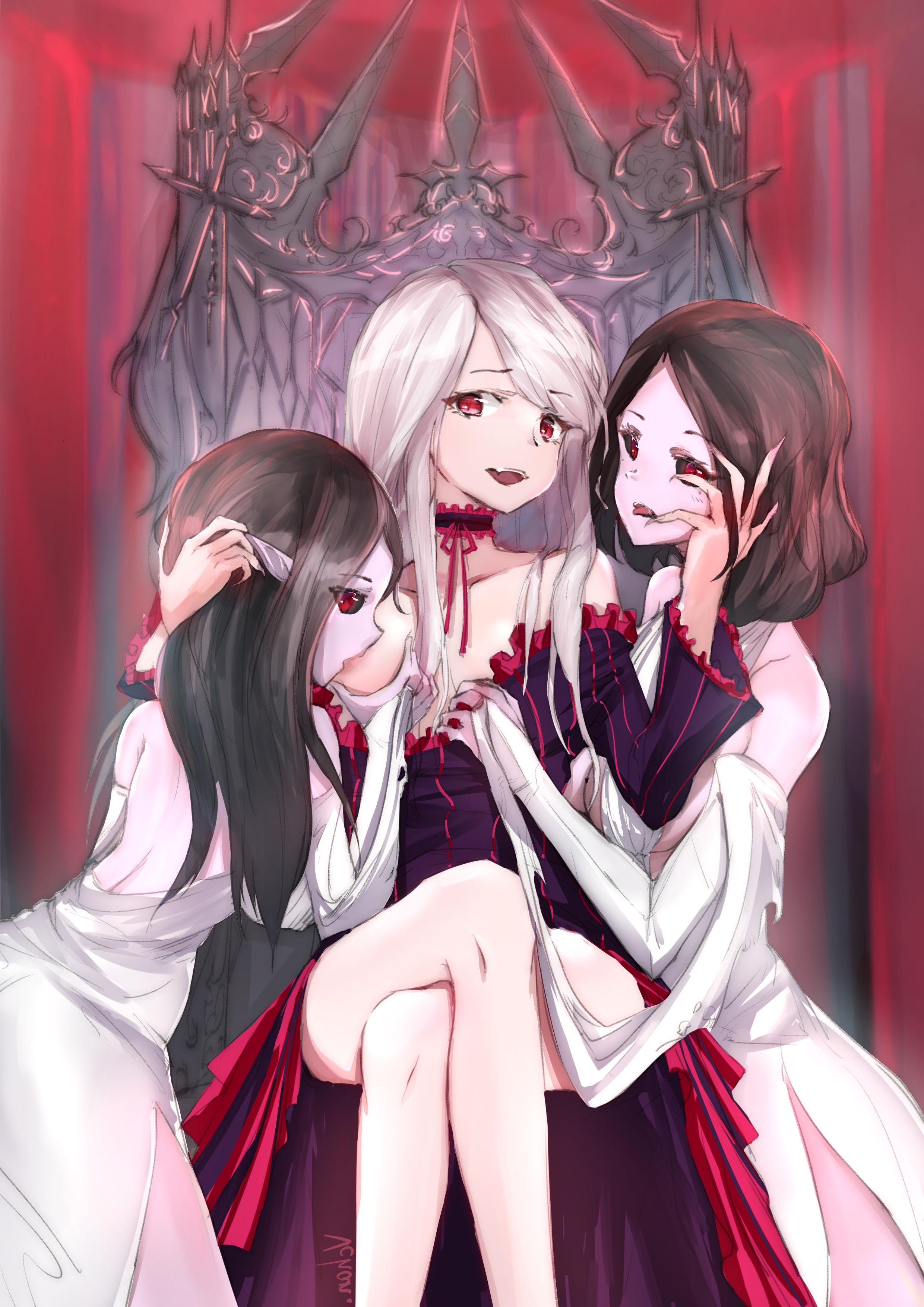 Anime lesbian werewolf vampire