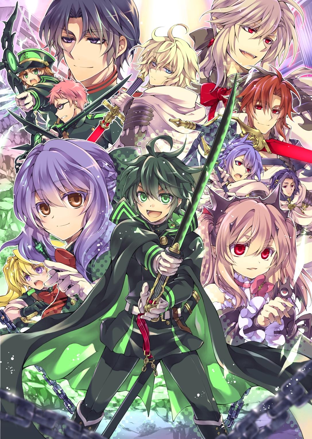 Crowley Eusford Owari No Seraph Zerochan Anime Image Board