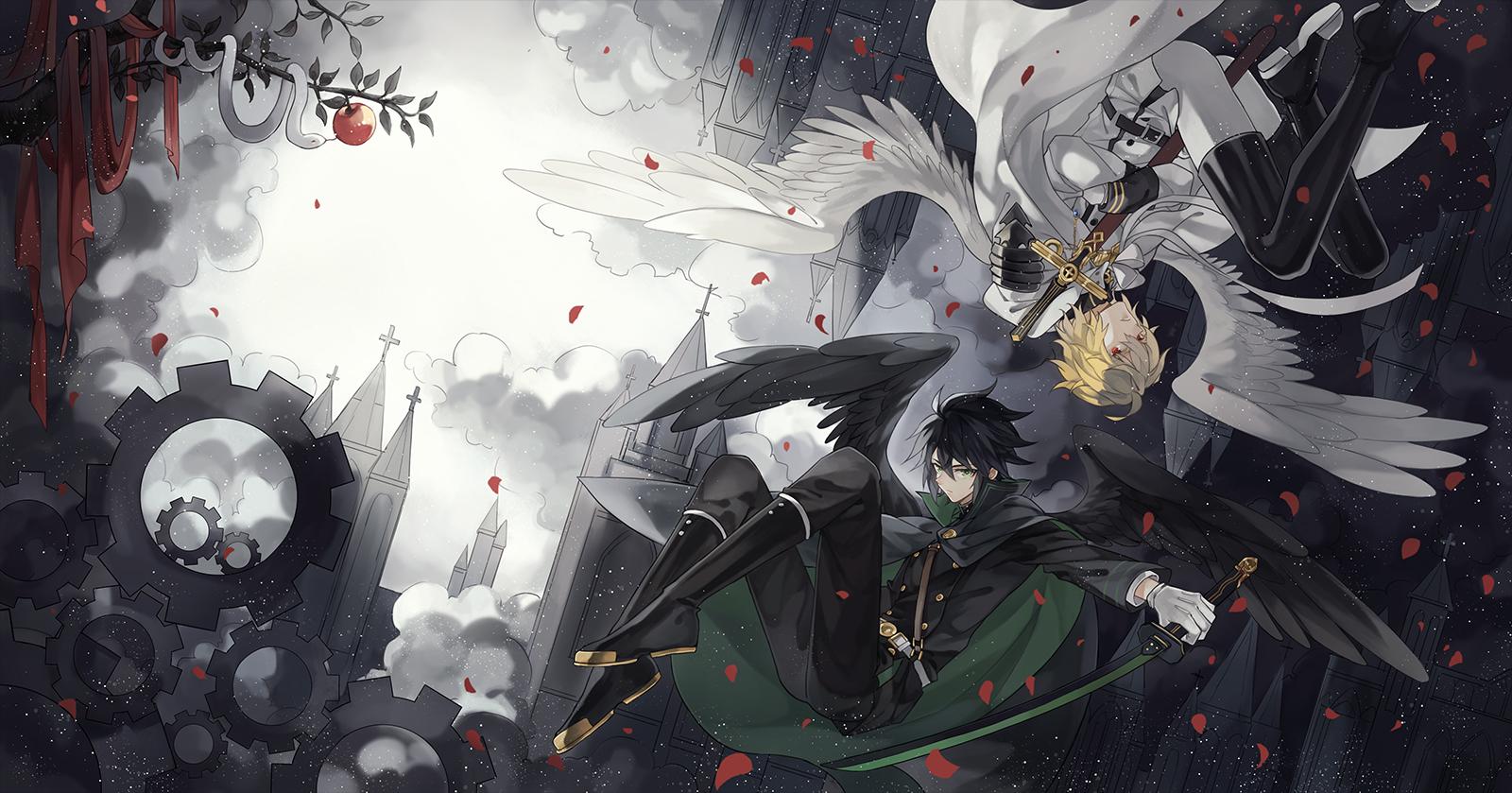 Favorites of Hikaru Tenshi tagged Owari no Seraph - Zerochan