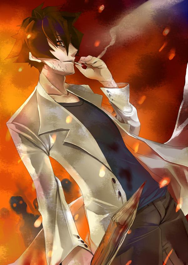 Tags Anime Shiki Ozaki Toshio Wooden Stake Doctor