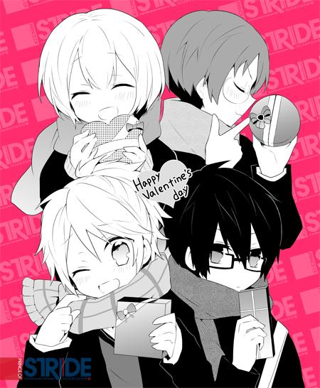 Tags: Anime, PRINCE OF STRIDE, Kadowaki Ayumu, Yagami Riku, Kohinata Hozumi, Fujiwara Takeru, Artist Request, Official Art