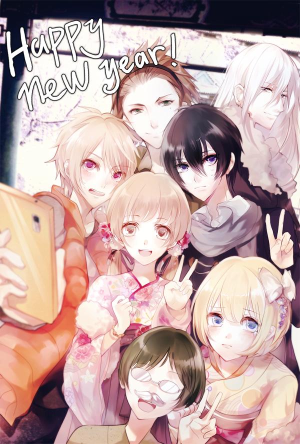 Tags: Anime, Pixiv Id 3938668, PRINCE OF STRIDE, Hasekura Heath, Kadowaki Ayumu, Fujiwara Takeru, Kuga Kyosuke, Sakurai Nana, Yagami Riku, Kohinata Hozumi, Taking A Photo, Fanart From Pixiv, PNG Conversion