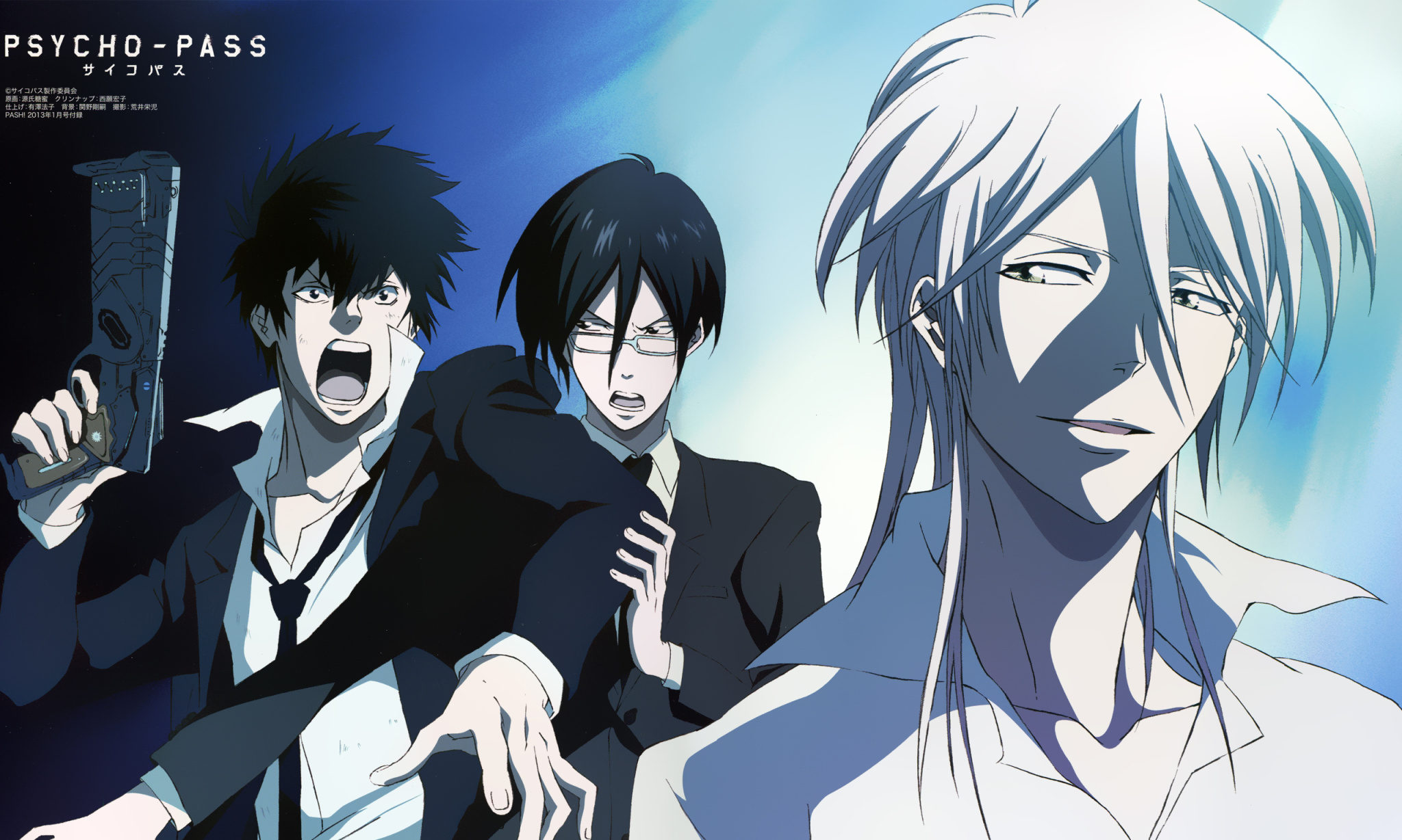 Psycho Pass Wallpaper Zerochan Anime Image Board