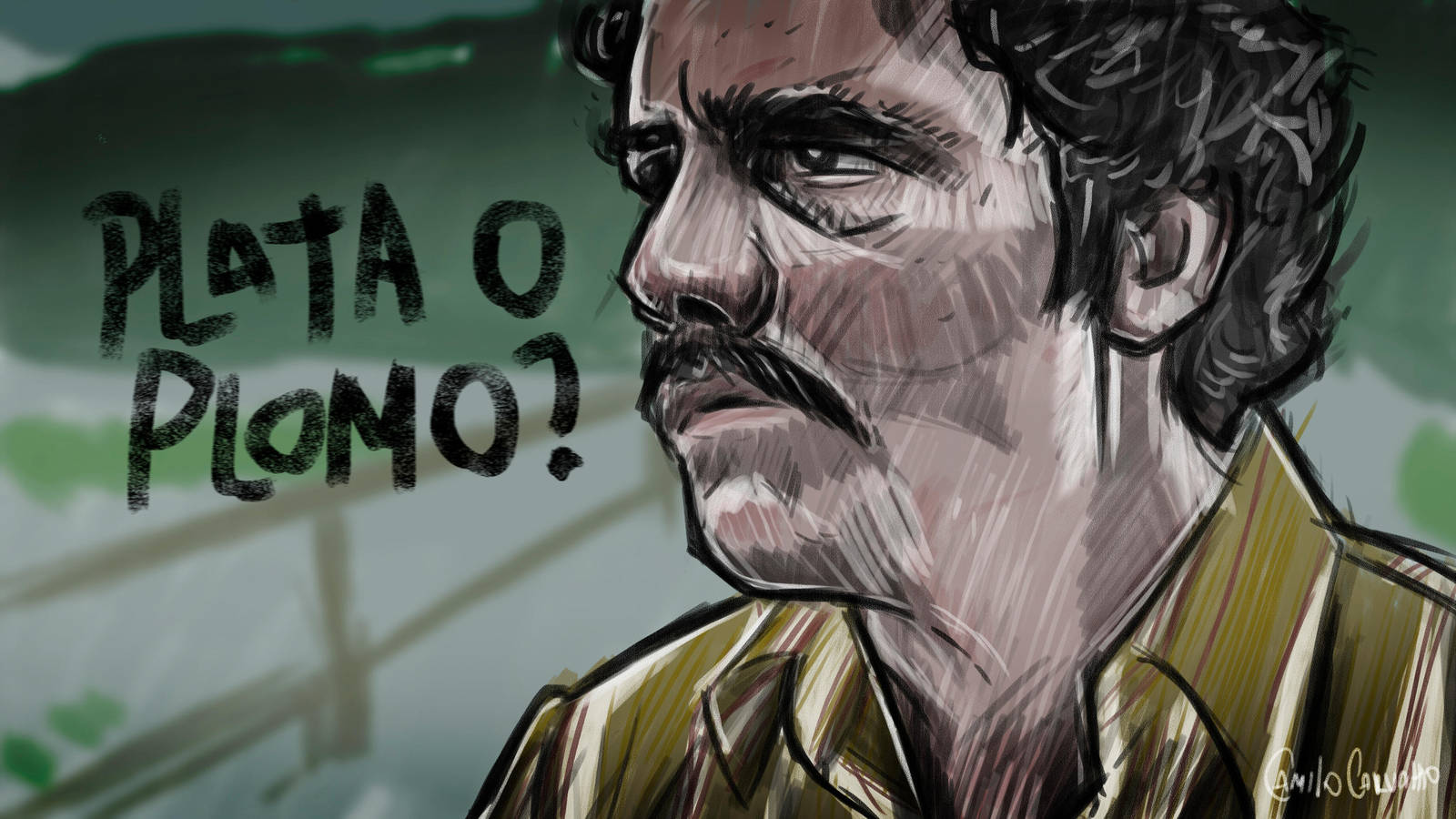 Pablo Escobar Narcos Wallpaper 2493816 Zerochan Anime