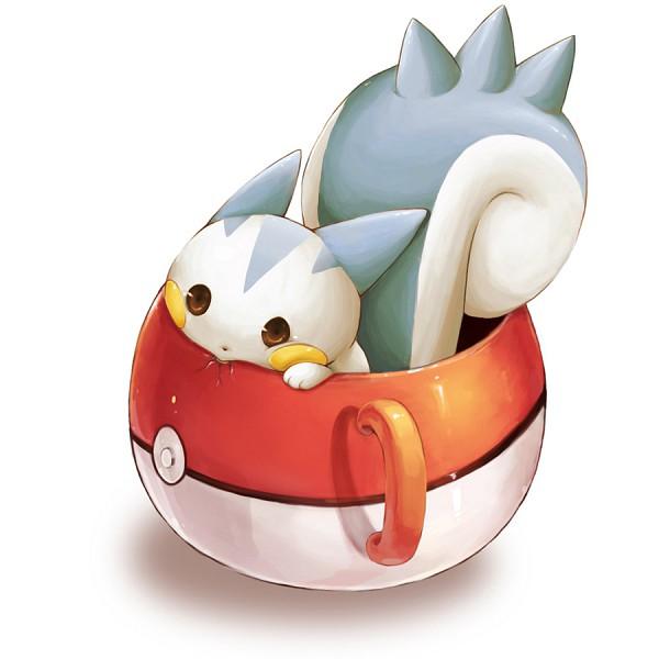 Tags: Anime, Super15rrr, Pokémon, Pachirisu, Cracks, Mug, Pokéball Mug