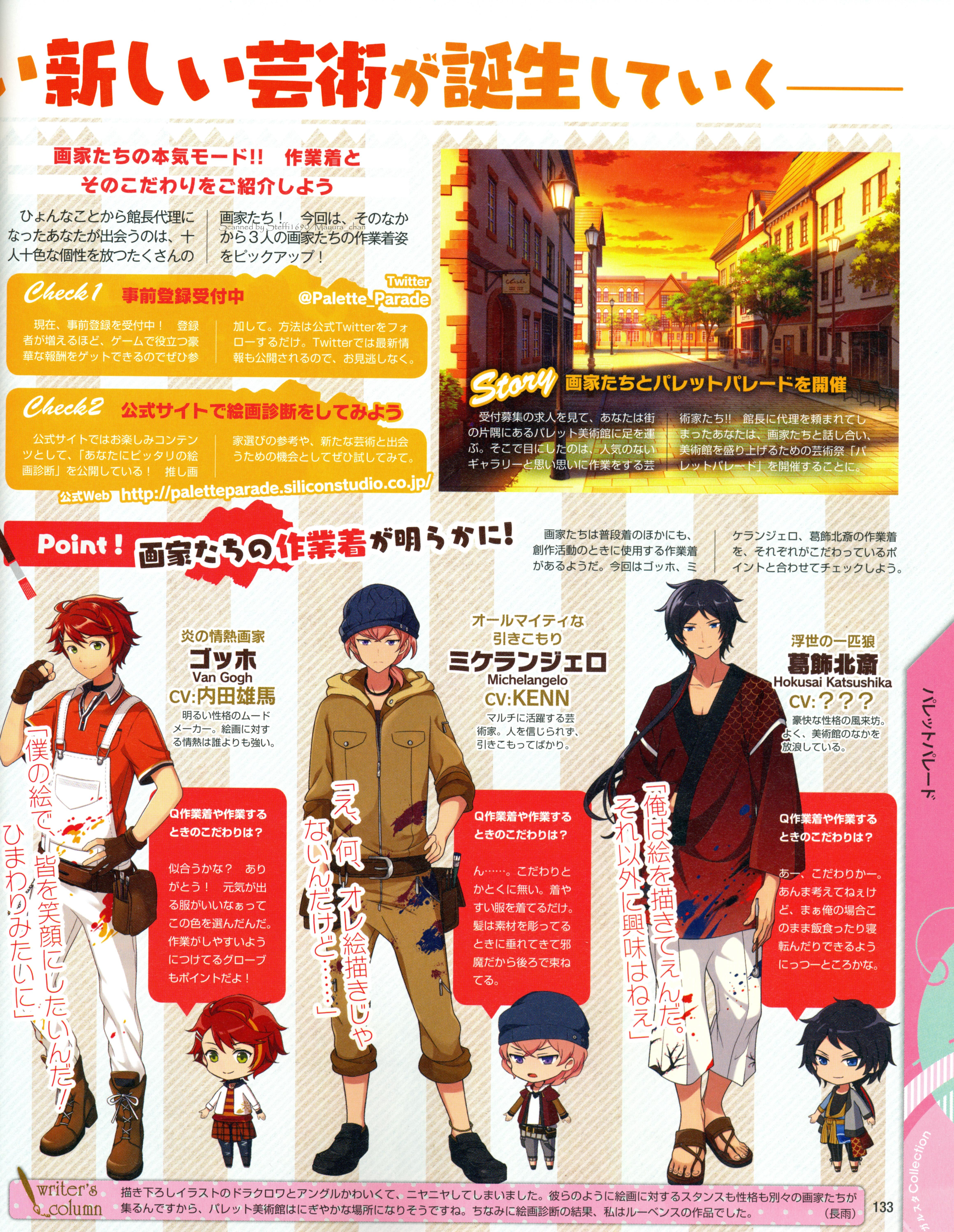Michelangelo Palette Parade Zerochan Anime Image Board