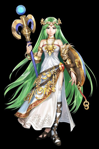 Tags: Anime, Kid Icarus, Palutena