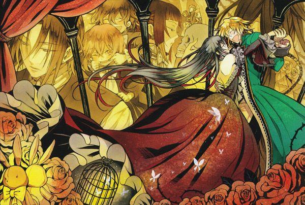 Tags: Anime, Mochizuki Jun, SQUARE ENIX, Pandora Hearts, Fang Baskerville, Alice Baskerville, Oswald Baskerville