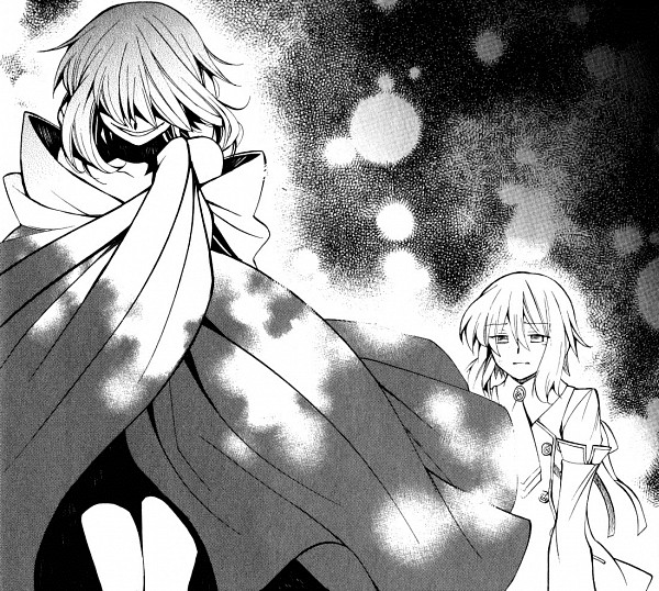 Tags: Anime, SQUARE ENIX, Pandora Hearts, Echo, Baskerville, Zwei (Pandora Hearts), Mochizuki Jun