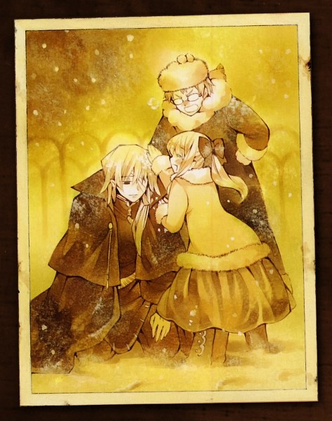 Tags: Anime, SQUARE ENIX, Pandora Hearts, Xerxes Break, Reim Lunettes, Mochizuki Jun, Sharon Rainsworth