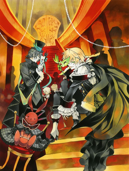 Tags: Anime, Mochizuki Jun, SQUARE ENIX, Pandora Hearts, Pandora Hearts ~Odds And Ends~, B Rabbit, Vincent Nightray