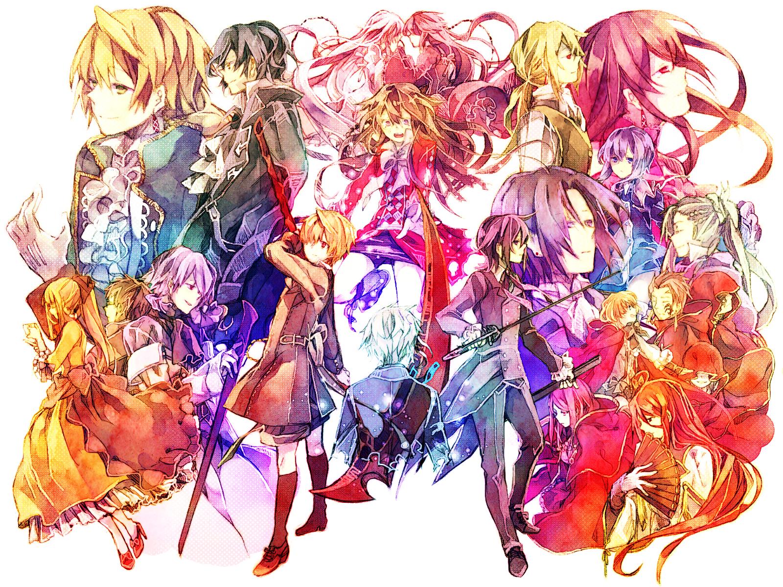сердца пандоры все персонажи с картинками верхней части