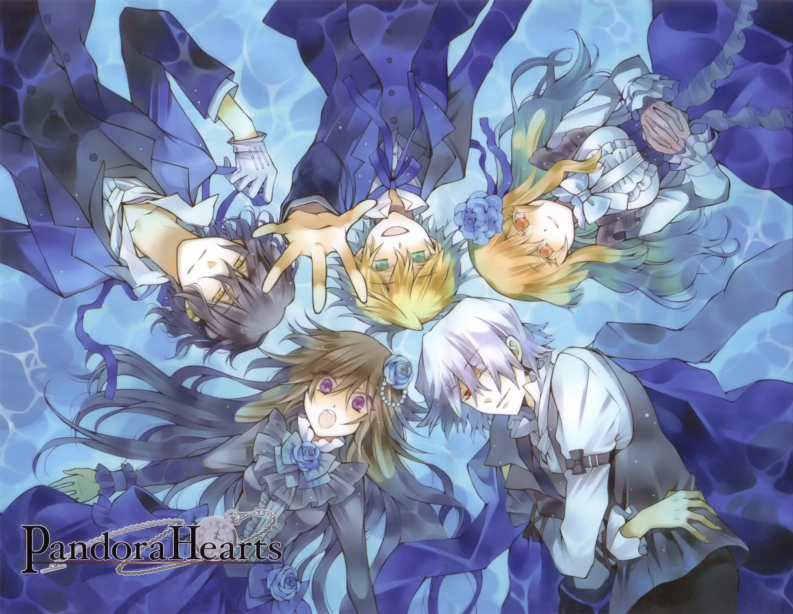X And Y Anime Characters : Pandora hearts official art zerochan anime image board