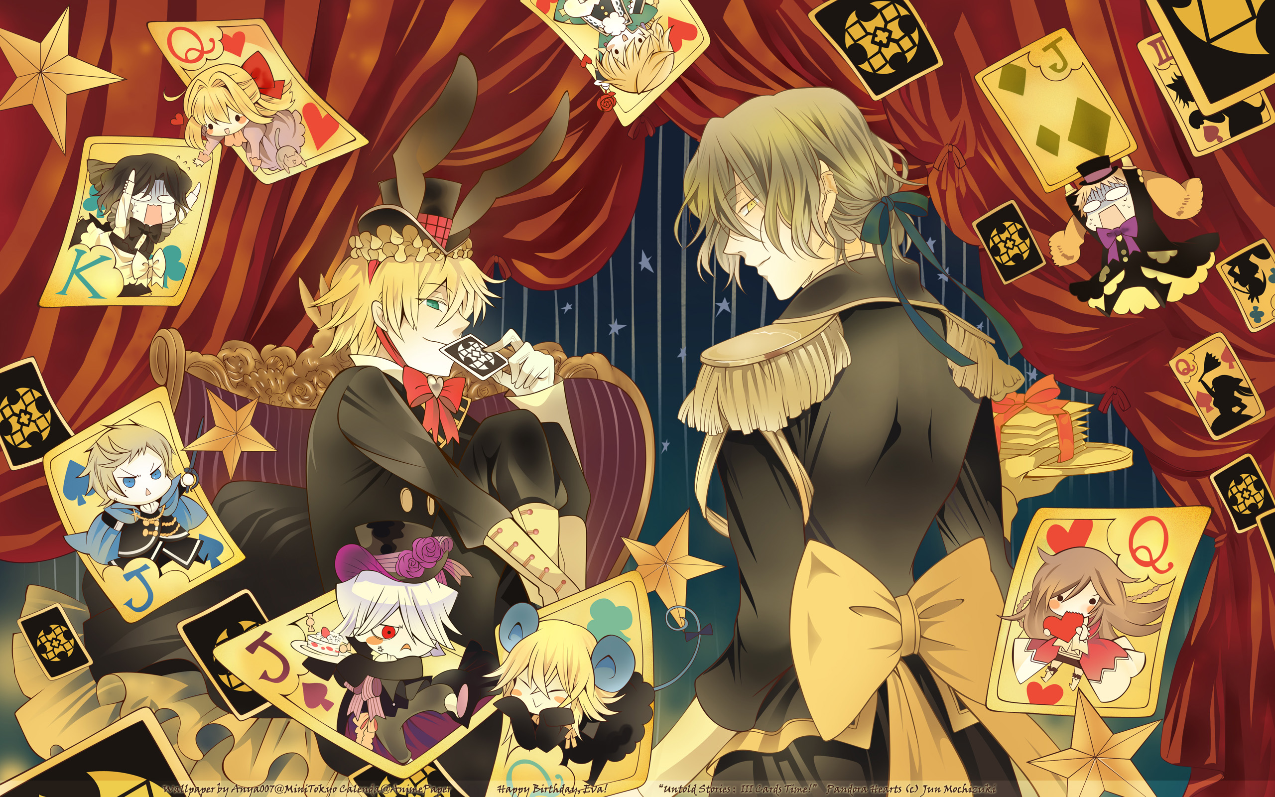 pandora hearts wallpaper zerochan