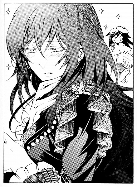 Tags: Anime, SQUARE ENIX, Pandora Hearts, Gilbert Nightray, Mochizuki Jun, Pandora Hearts ~Odds And Ends~, Oz Vessalius