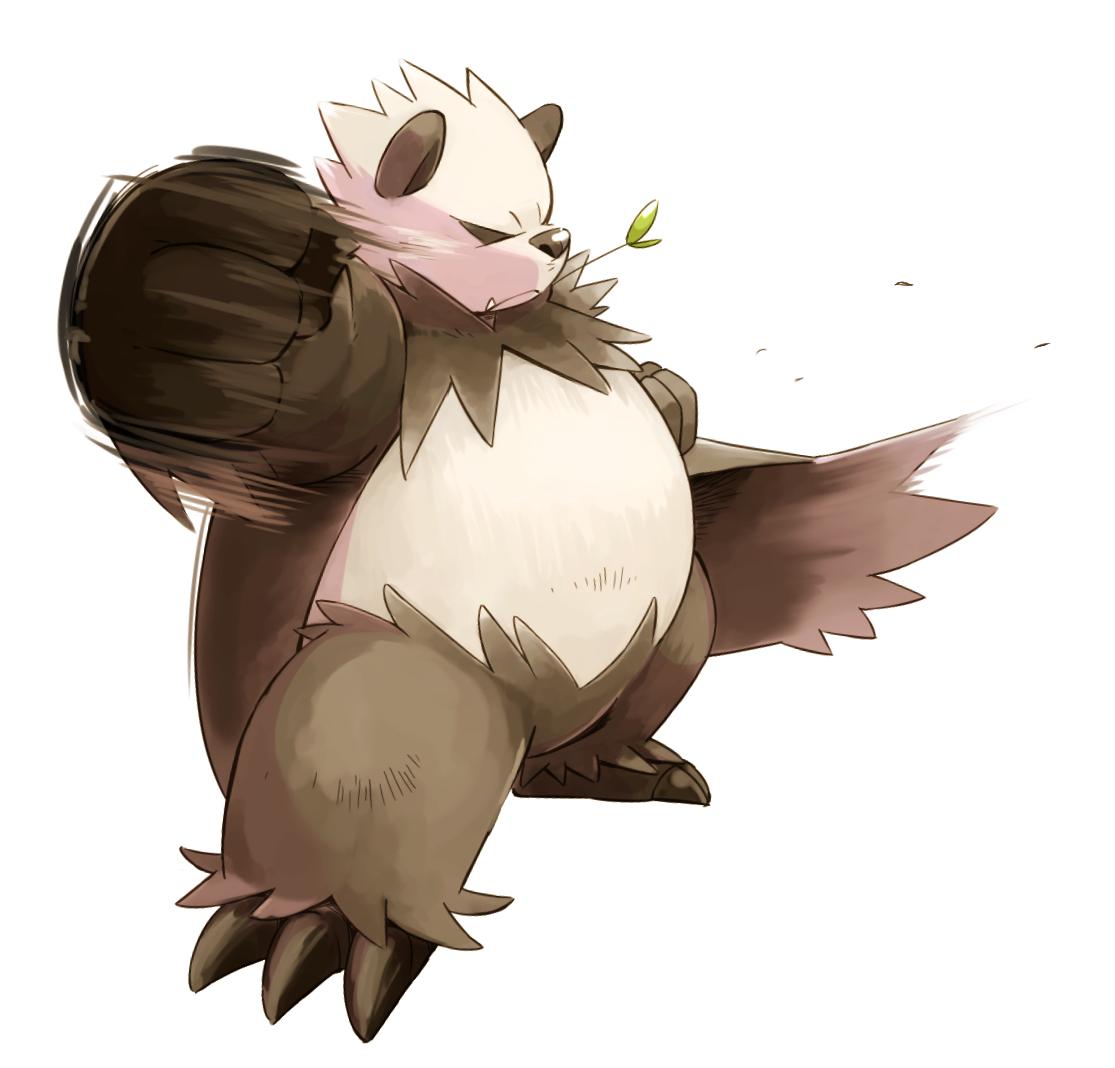 pangoro   pok mon   image 1645143   zerochan anime image board