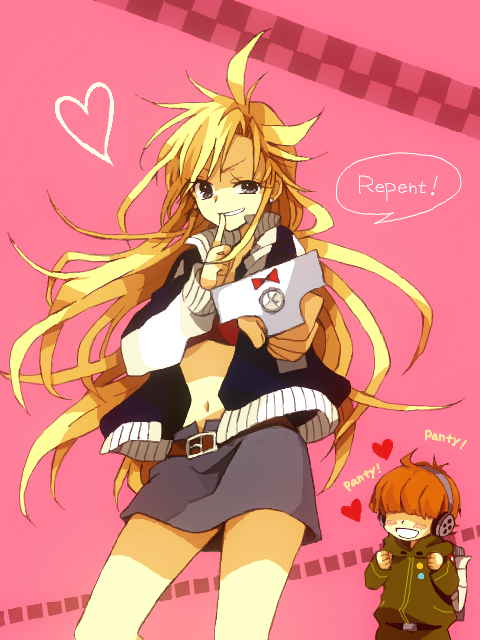 Tags: Anime, An (Pixiv1170947), Panty and Stocking With Garterbelt, Rock Briefers, Anarchy Panty, Pixiv, Fanart