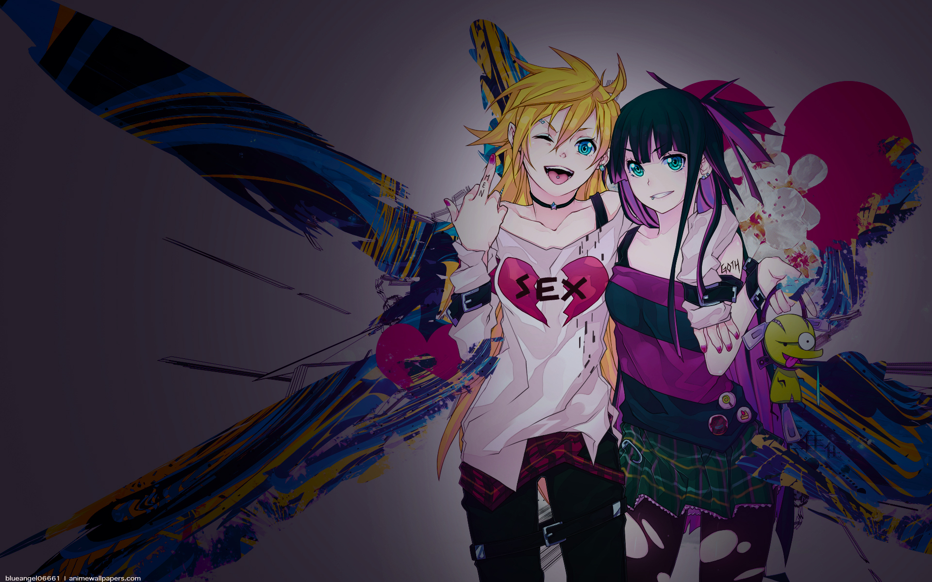 Panty And Stocking With Garterbelt Wallpaper Page 2 Zerochan